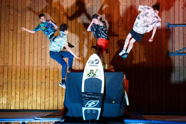 Stages de trampoline. Les dates de juillet sont en ligne !