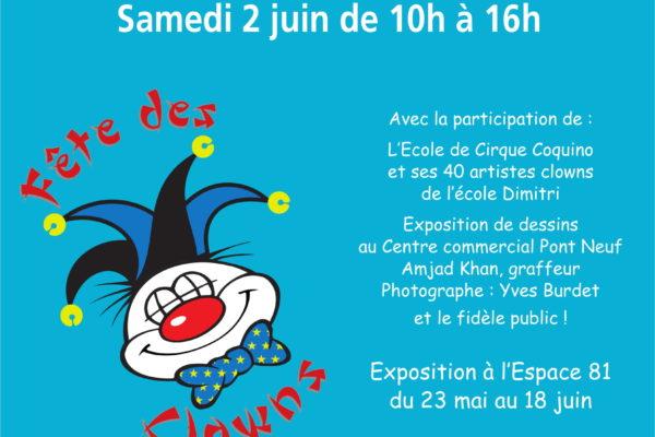 Fête des Clowns-Grand marché de Printemps-Morges-2 juin