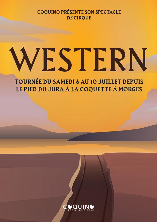 Coquino - Tournée Western