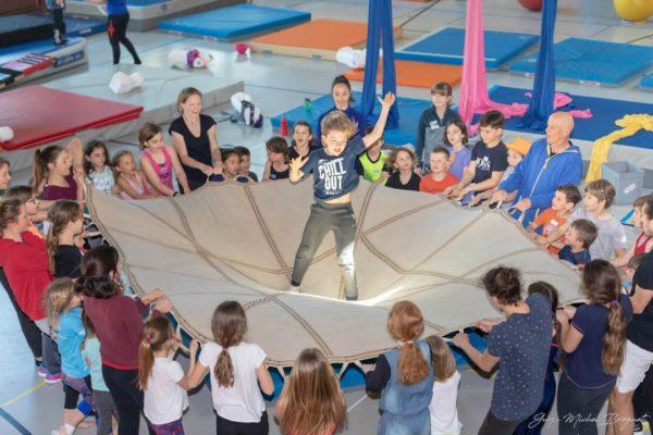 Envie de rejoindre notre école de cirque dès septembre 2020